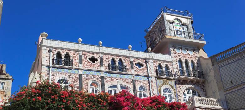 An historic fountain in Lisbon - Portugal