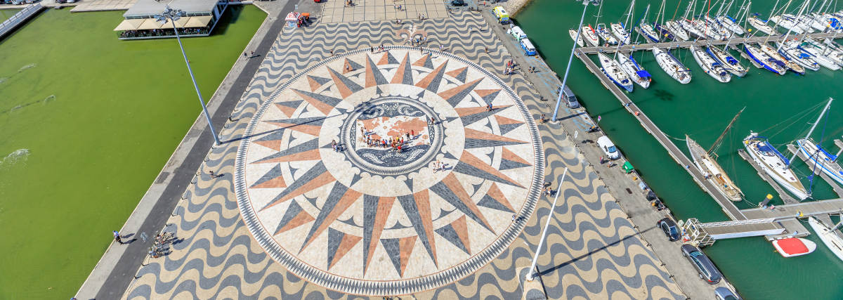 mosaic of world map belem