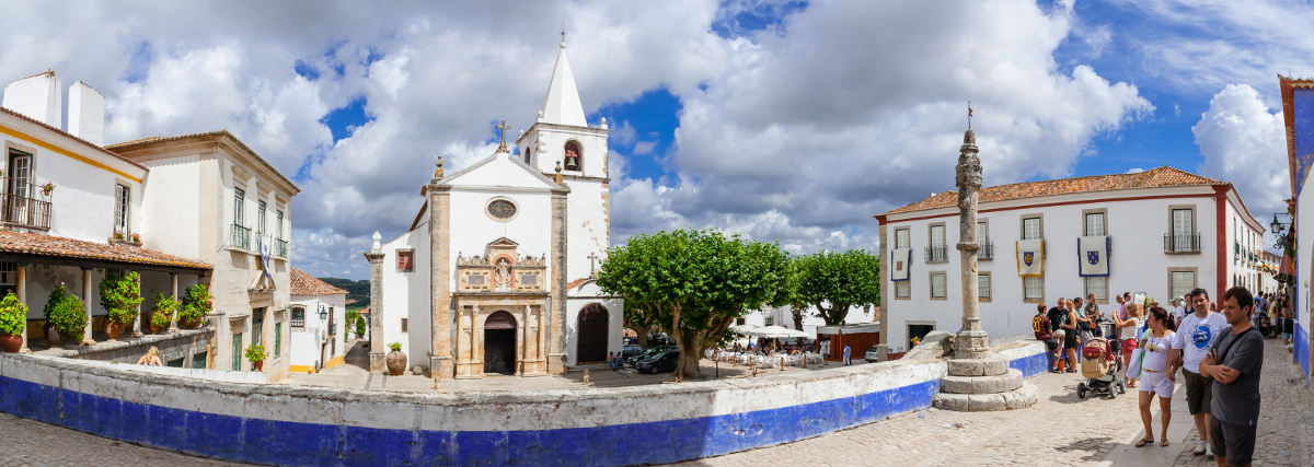 Santa Maria Church Obidos -