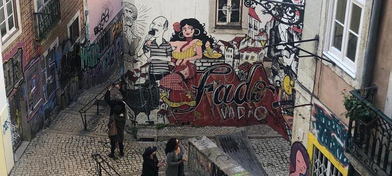 Grafiti-Fado-Lisbon