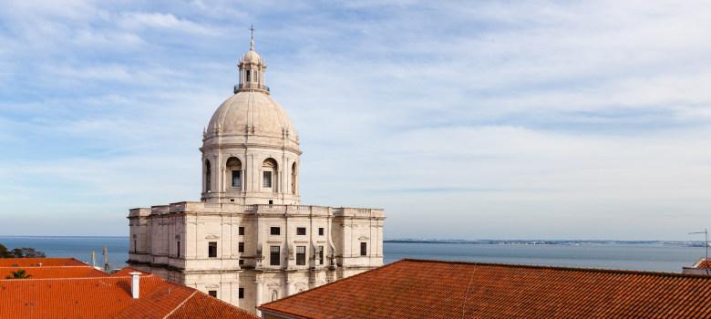 Church Of Santa Engracia And National Pantheon In Lisbon, Portug