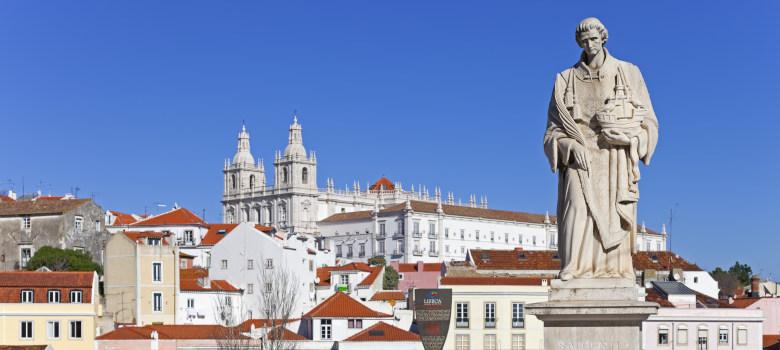Lisbon, Portugal, February 01, 2013: The popular Portas do Sol B