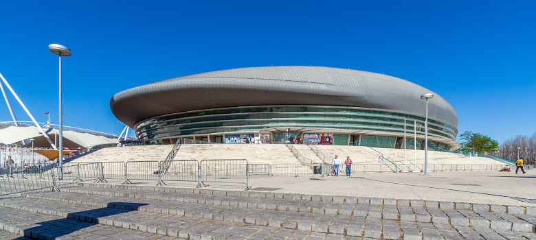 Lisbon, Portugal - April  02, 2018: Altice Arena aka Meo or Pavi