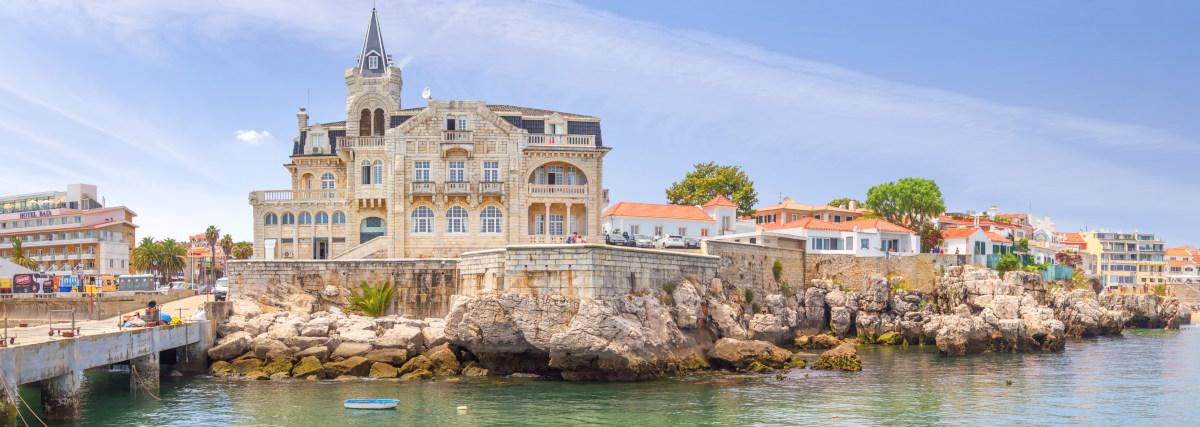 Cascais, Portugal - June 22, 2018: Cascais Near Lisbon, Seaside