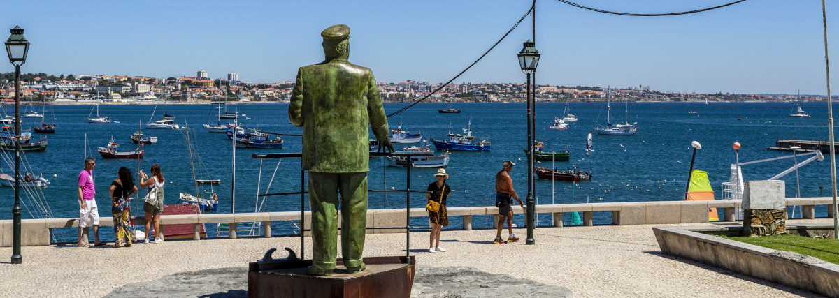 Cascais - August 14, 2019: King Carlos I Of Portugal Looking At