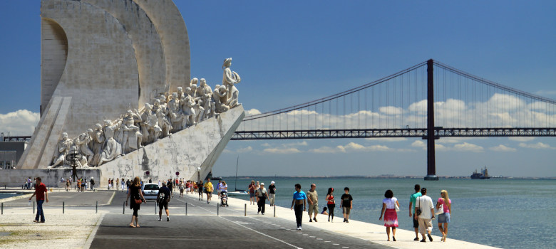 Monument Padrao dos Descobrimentos in Lisbon