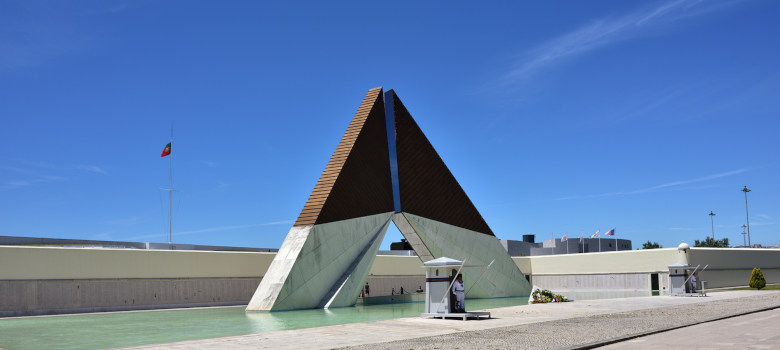 Monument Aos Combatentes Do Ultramar At Belem In Lisbon, Portuga