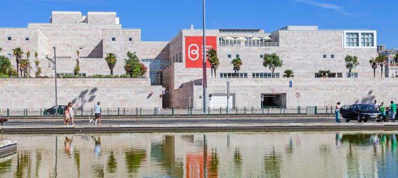 Lisbon, Portugal. August 24, 2014: Centro Cultural de Belem (bel